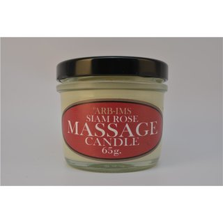 Siam Rose Aroma Massage Candle